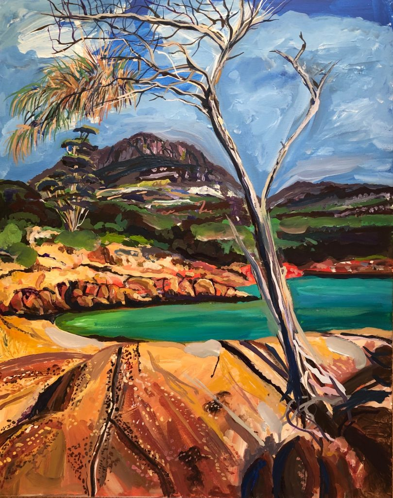 Image of Nathaniel Hiller's Honeymoon Bay, Coles Bay