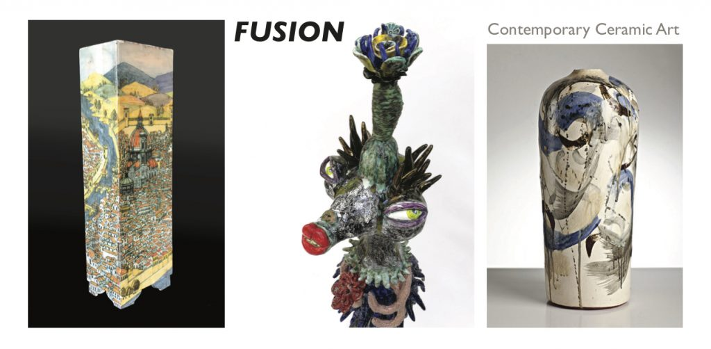 FUSION INVITE 2019 DL- SML, Patrick Collins, Jenny Orchard, Jeff Mincham, 2019. Photographer: Despard Gallery