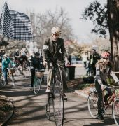 Junction Arts 2018 Festival, Tweed Run. Image credit: Nick Hanson