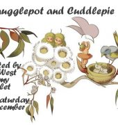 Snugglepot and Cuddlepie art Ad