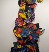 , Chloe Townsend – Leighland Cristian School Untitled sculptural painting Art Production