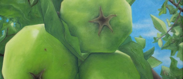 'Pieces of Life' An exhibition of fruitscapes by Jen Franklin