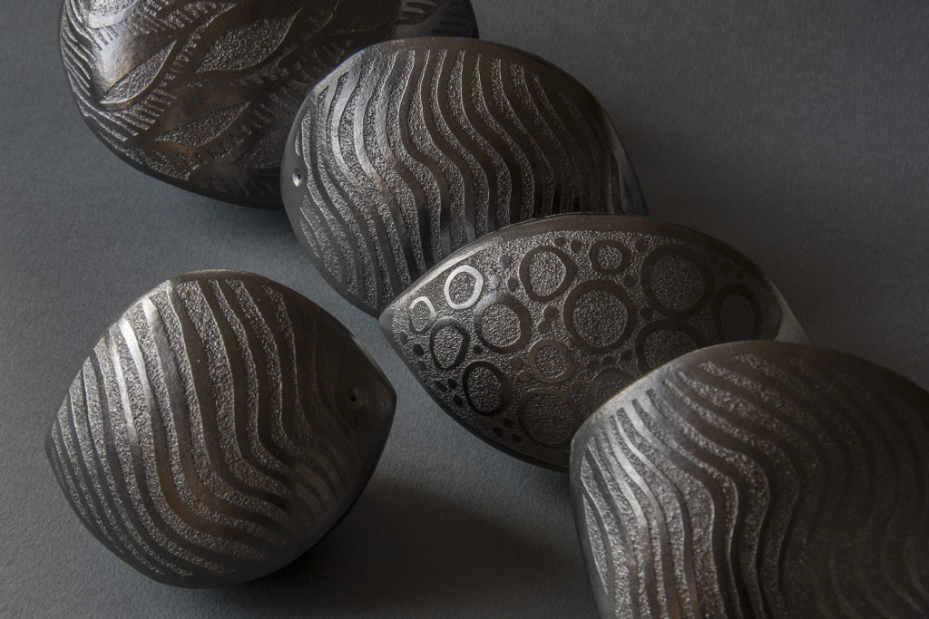 Etched Pods by Robin Roberts