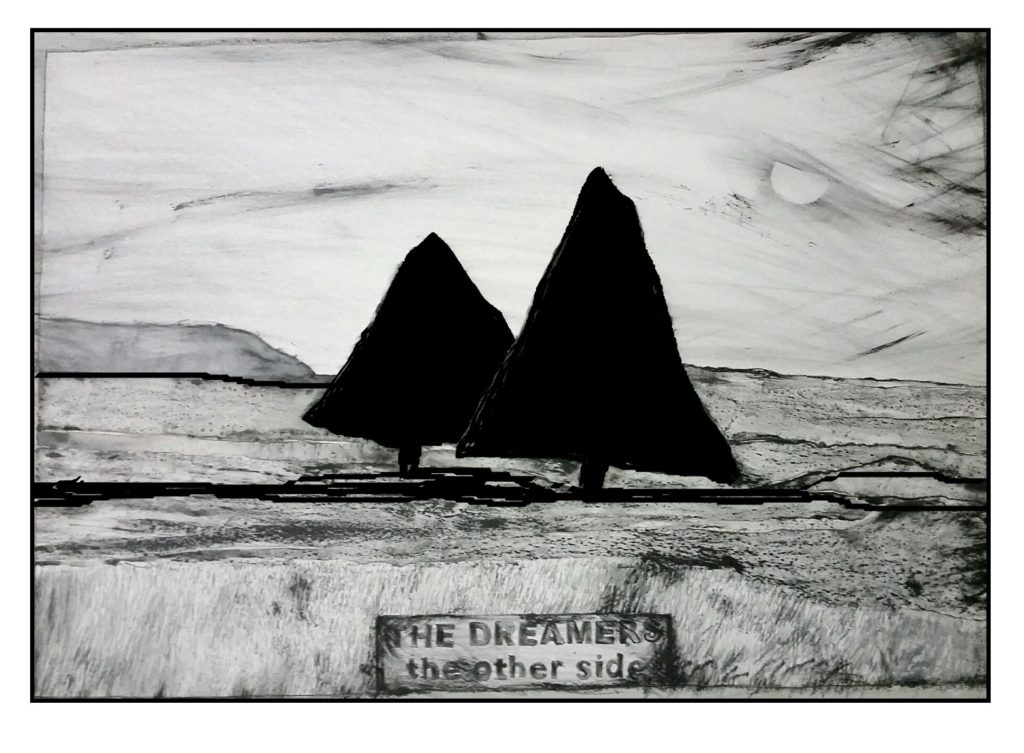 'Two Views' by Ange Cooper and Kaye Green