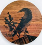 Black Currawong and Fagus, Josephine Palmer, 2021