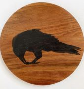 Currawong with Wild Berry, Josephine Palmer, 2021