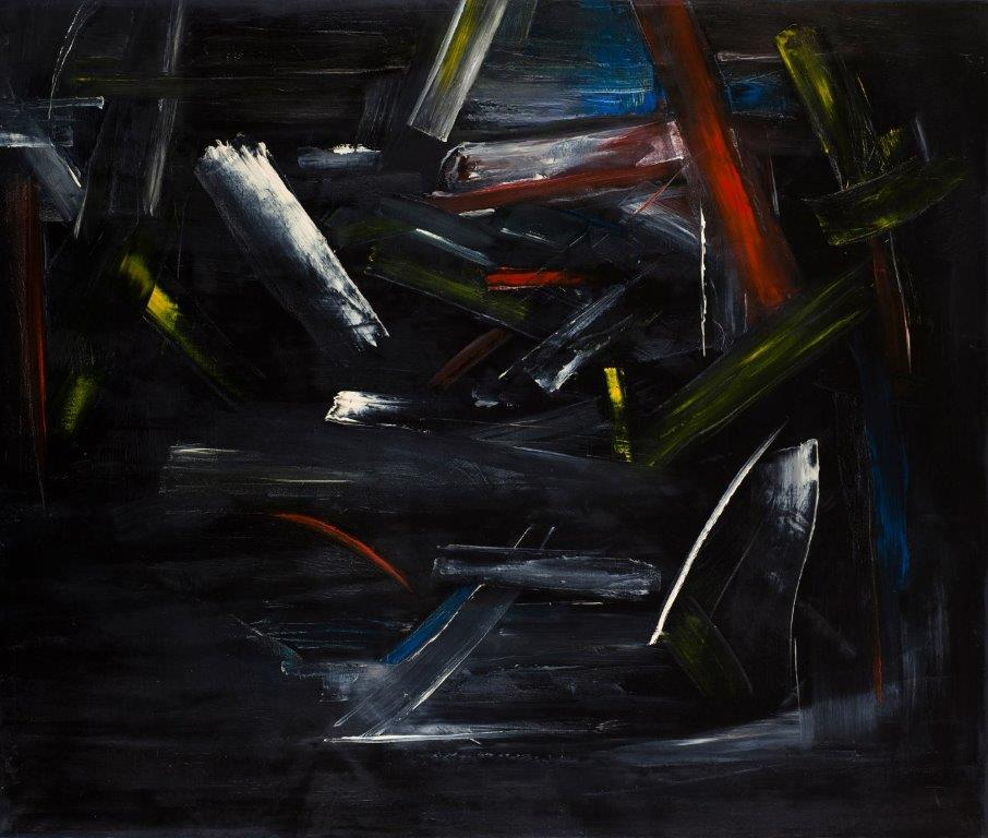 2021 'Lost Thoughts' new 100x119cm