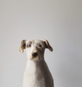 Penny Ruthberg, Ceramic dog, 2021