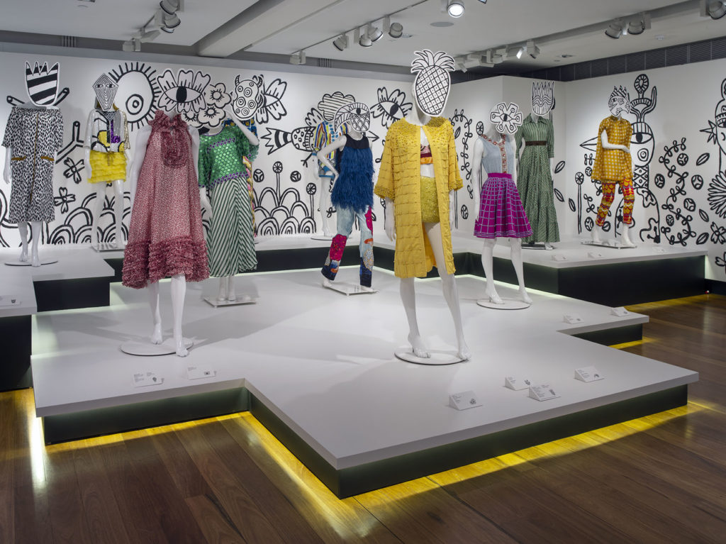 06 Install 2, The Designers' Guide: Easton Pearson Archive 2018. Photo: Carl Warner. Illustration: Stephen Mok.  Donated by Dr Paul Eliadis through the Australian Government's Cultural Gifts Program 2017, Easton Pearson Archive, Museum of Brisbane Collection., 2018. Photographer: Carl Warner